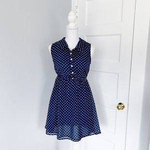 Urban Outfitters | Fit & Flare Polka Dot Dress